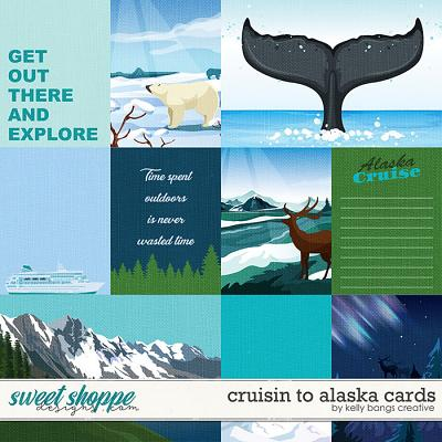 Cruisin to Alaska Cards by Kelly Bangs Creative