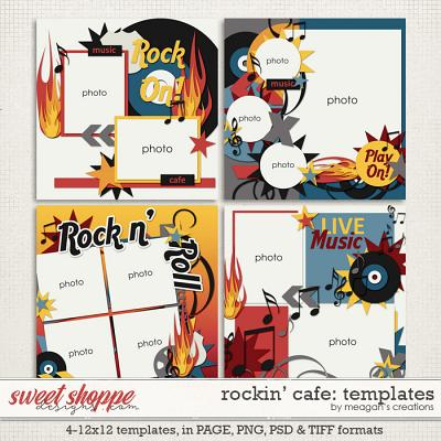 Rockin' Cafe: Templates by Meagan's Creations