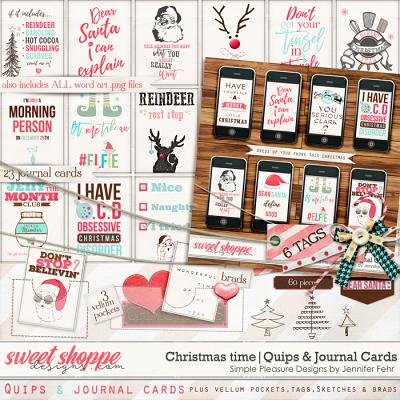 Christmas time | quips & cards kit: simple pleasure designs by Jennifer Fehr