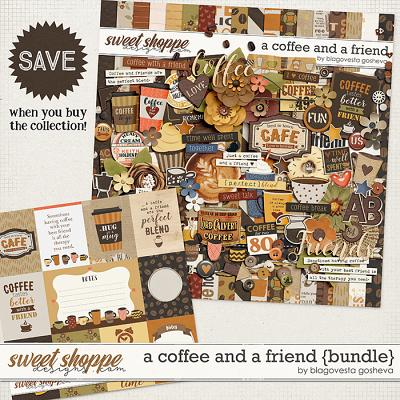 A Coffee and a Friend {bundle} by Blagovesta Gosheva