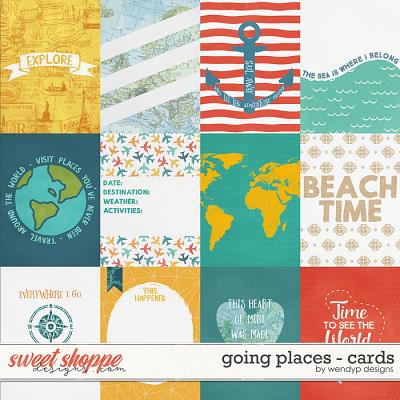Going places - cards by WendyP Designs