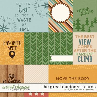 The Great Outdoors | Journal Cards by Digital Scrapbook Ingredients