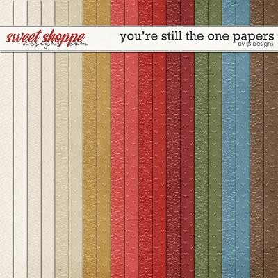 You're Still The One Papers by LJS Designs
