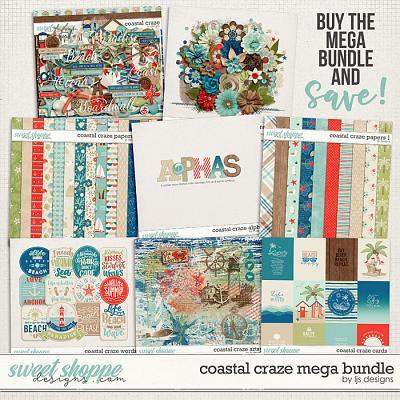 Coastal Craze Mega Bundle by LJS Designs