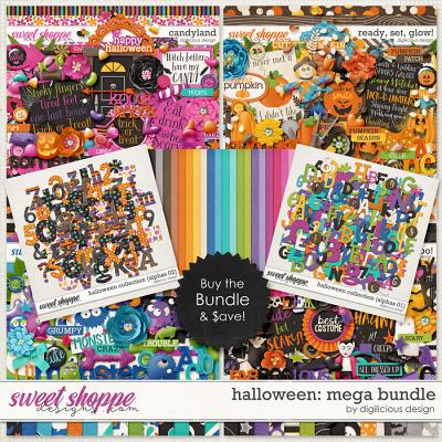 Halloween {Mega Bundle} by Digilicious Design