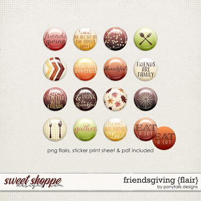 Friendsgiving Flair by Ponytails
