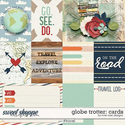 Globe Trotter: Cards by River Rose Designs