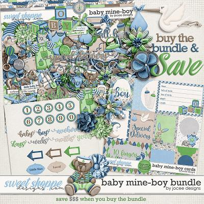 Baby Mine-Boy Bundle by JoCee Designs