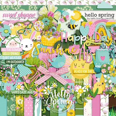 Hello Spring by Kelly Bangs Creative