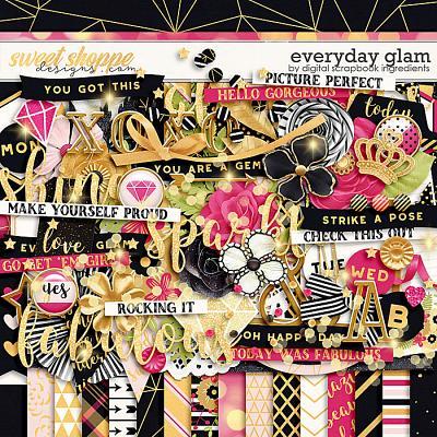 Everyday Glam by Digital Scrapbook Ingredients