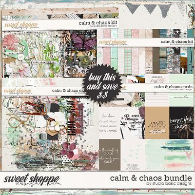 Calm & Chaos Bundle by Studio Basic
