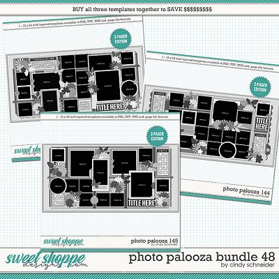 Cindy's Layered Templates - Photo Palooza Bundle 48 by Cindy Schneider