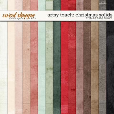 Artsy Touch: Christmas Solids by Studio Basic