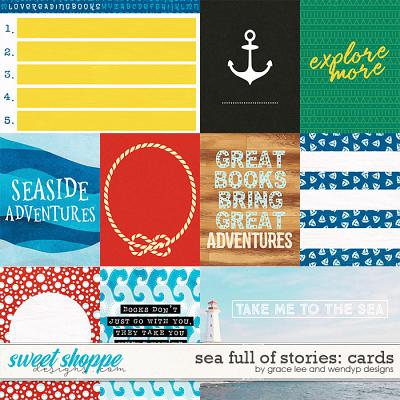 Sea Full of Stories: Cards by Grace Lee and WendyP Designs