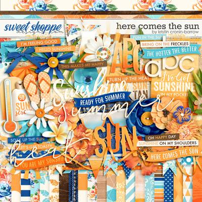 Here Comes The Sun by Kristin Cronin-Barrow