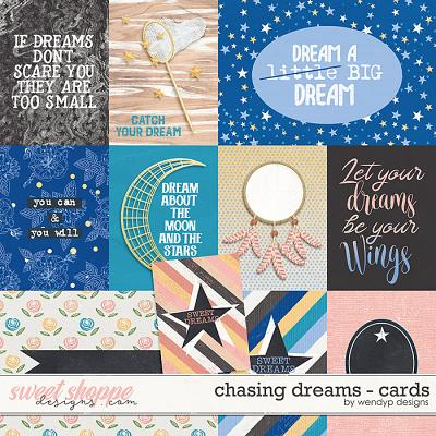 Chasing Dreams - Cards by WendyP Designs