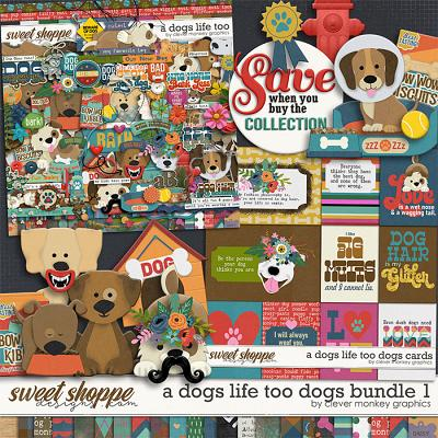 A Dog's Life Too Bundle 1 by Clever Monkey Graphics