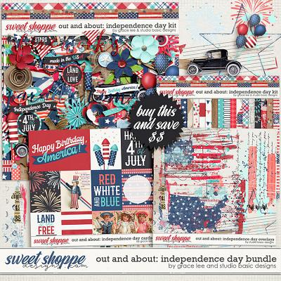 Out and About: Independence Day Bundle by Grace Lee and Studio Basic Designs