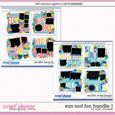 Cindy's Layered Templates - Sun and Fun Bundle 1 by Cindy Schneider