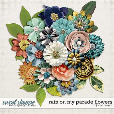 Rain on my Parade Flowers by JoCee Designs