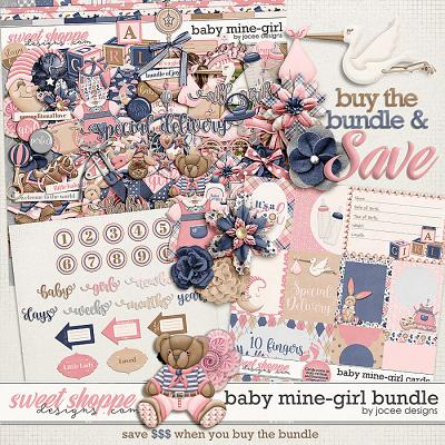 Baby Mine-Girl Bundle by JoCee Designs