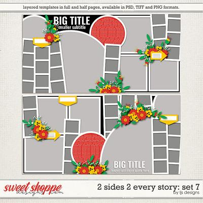 2 Sides 2 Every Story: Set 7 by LJS Designs