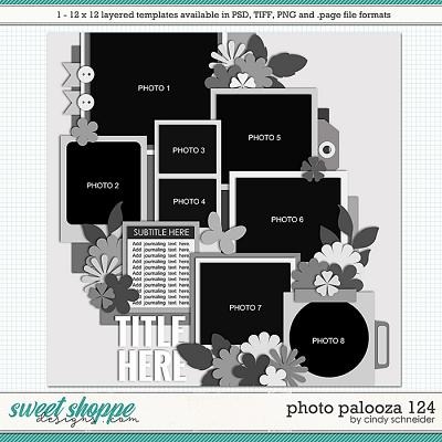 Cindy's Layered Templates - Photo Palooza 124 by Cindy Schneider