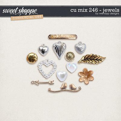 CU mix 246 - jewels by WendyP Designs
