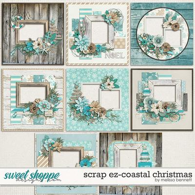 Scrap EZ-Coastal Christmas by Melissa Bennett