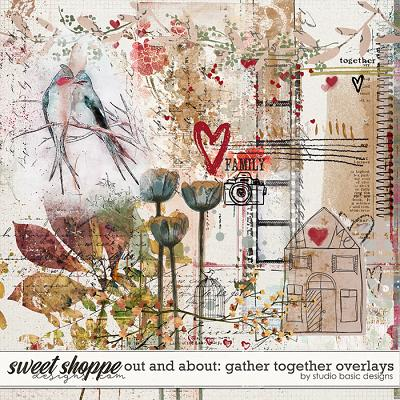 Out and About: Gather Together Overlays by Studio Basic Designs