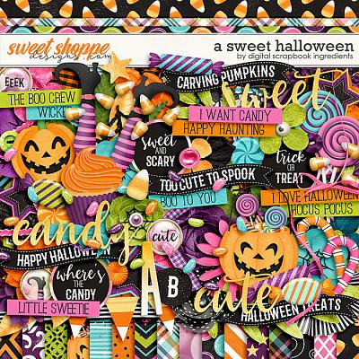 A Sweet Halloween by Digital Scrapbook Ingredients