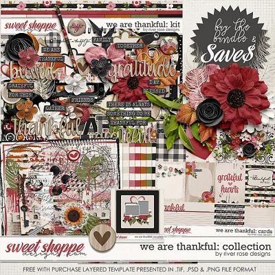 We Are Thankful: Collection + FWP by River Rose Designs