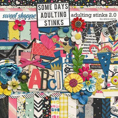 Adulting Stinks 2.0 by Erica Zane
