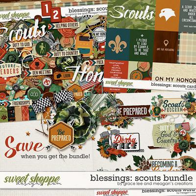 Blessings: Scouts Collection Bundle by Meagan's Creations