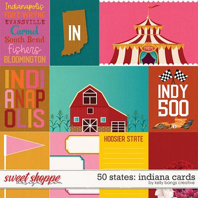 50 States: Indiana Cards by Kelly Bangs Creative