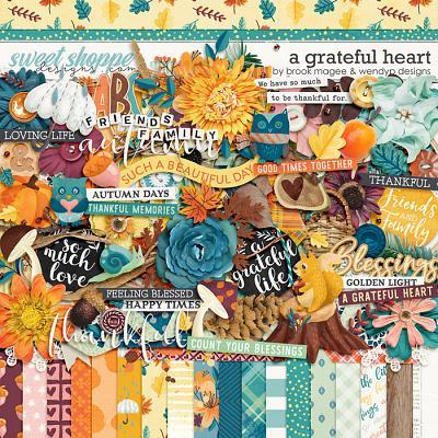 A Grateful Heart by Brook Magee & WendyP Designs
