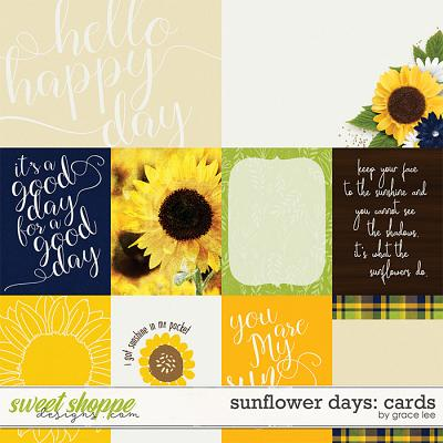 Sunflower Days: Cards by Grace Lee