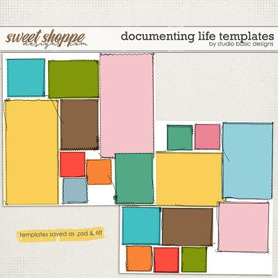 Documenting Life Templates by Studio Basic