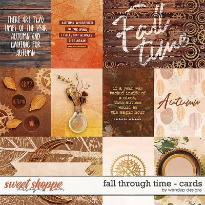 Fall through time - Cards by WendyP Designs