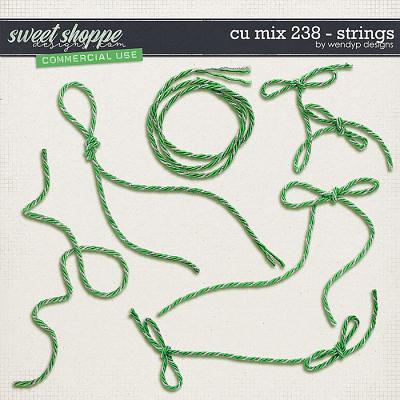 CU MIx 238 - strings by WendyP Designs