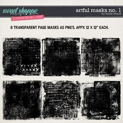 CU Artful Masks no. 1 by Tracie Stroud