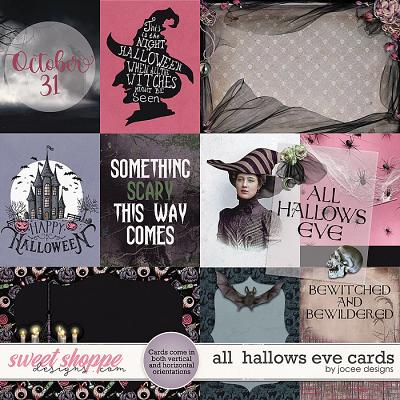 All Hallows Eve Cards by JoCee Designs