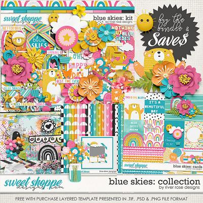 Blue Skies: Collection + FWP by River Rose Designs