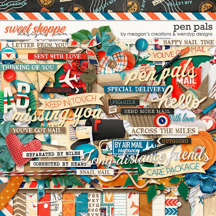Pen Pals Bundle by Meagan's Creations & WendyP Designs