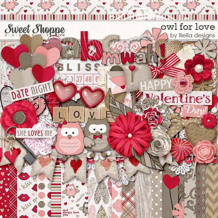 Owl For Love by lliella designs