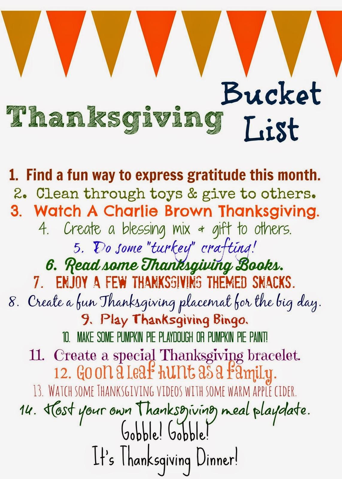 ThanksgivingBucketList