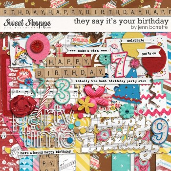 They Say It's Your Birthday by Jenn Barrette