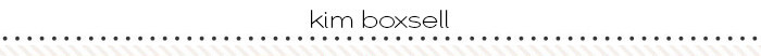 kim boxsell